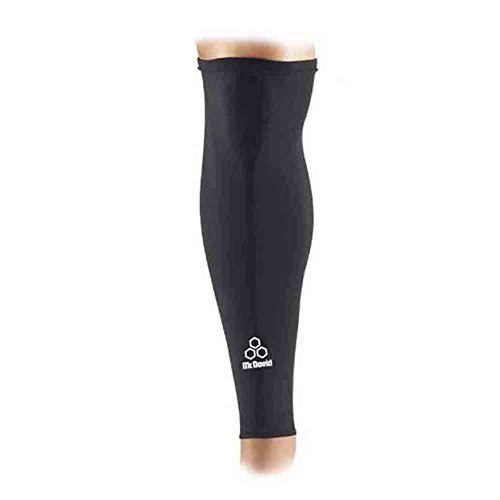 Mcdavid Classic 6570 Power Leg Sleeve Black Small (Single Sleeve) by McDavid