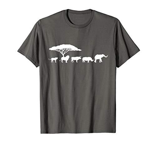 (Africa The Big Five Animals T-Shirt | Kids Toddler BIG)
