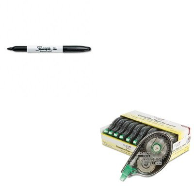 KITSAN30001TOM68720 - Value Kit - Tombow MONO Correction Tape (TOM68720) and Sharpie Permanent Marker (SAN30001)