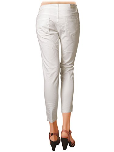 Taille Extensible Tissu Basse Bleu Skinny Unie Capri 777 Couleur Lavage Jeans Foncé Carrera Femme Style Pour Pantalon 001 wHPcpzqv