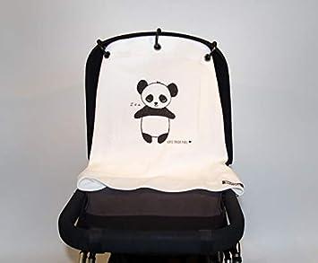 Kurtis K-BP008 Baby Peace Rideau pour Poussette Innovant /& Fonctionnel Panda Gris