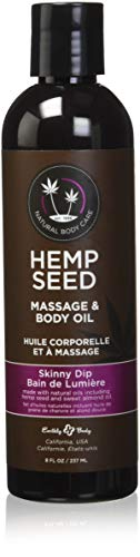 Earthly Body Massage Oil, Skinny Dip, 8 Ounce ()