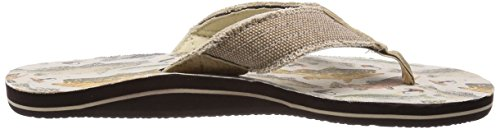 Freewaters Mens Palapa Print Sandal Footwear Freshwater Fish cAshZ5ZB