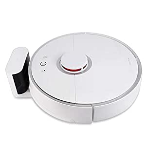 Roborock S50 Robot Vacuum Sweep-Mop Robotic Cleaner Wi-Fi Connected Laser Navigating Strong Suction For All Floor Types Australia Plug Version(White)