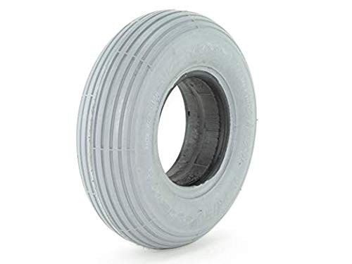2.80/2.50-4 Solid Foam Filled Tire - Ribbed Tread - Primo Spirit