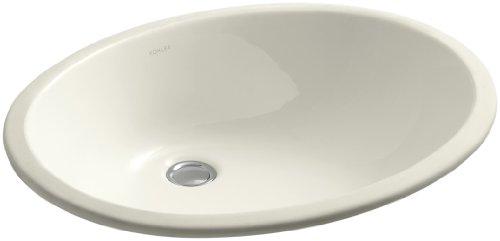 KOHLER K-2211-96 Caxton Undercounter Bathroom Sink, Biscuit (Caxton Kohler Biscuit)
