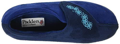 royal Blue Chaussons Femme Hug Bas combi Padders 50 7U8qR8