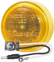 Truck-lite 81134 Led 10-series Clearance/marker Lamp, 2.5'', Yellow (Pack of 5)