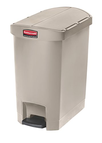 Step Wastebasket - Rubbermaid Commercial Slim Jim Step-On