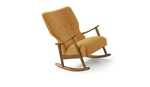 Magnificent Amazon Com Keyser Mid Century Modern Rocking Chair Squirreltailoven Fun Painted Chair Ideas Images Squirreltailovenorg