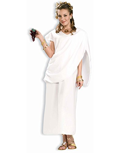 [Forum Novelties Women's Grecian Woman Costume, White, Standard] (Grecian Sandals Costume)