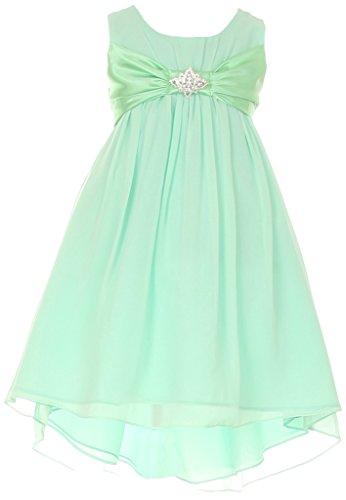 Chiffon Baby Doll Gown - 5
