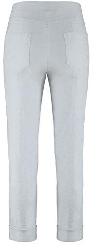 Stehmann IGOR-680, sportive Damenhose mit aufgesetzten Taschen und Aufschlag, 6/8 Länge 44