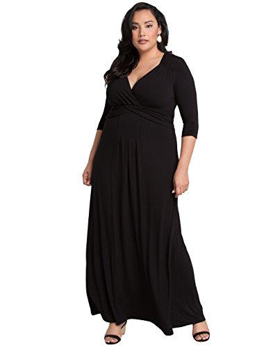 Kiyonna Women's Plus Size Desert Rain Maxi