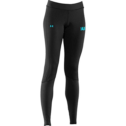 (Under Armour Women's UA BASE¿ 4.0 Legging Black/Cortez Pants)