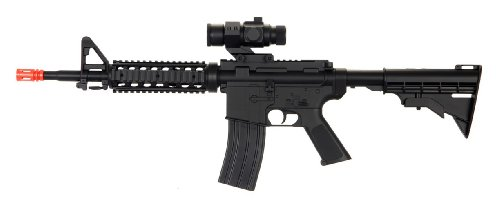 ectric airsoft gun full auto rechargeable fps-250 upgraded version, comes w/ scope(Airsoft Gun) ()