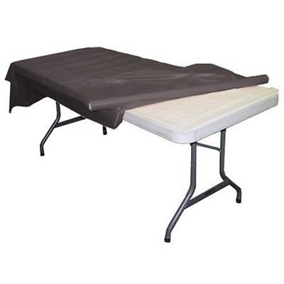 Black plastic table roll - Opacity Black