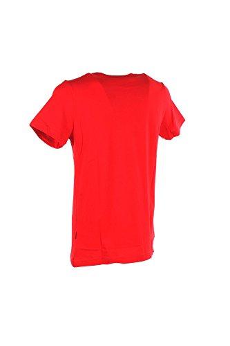 T-shirt Uomo Carlsberg S Rosso Cbu2951 Primavera Estate 2018