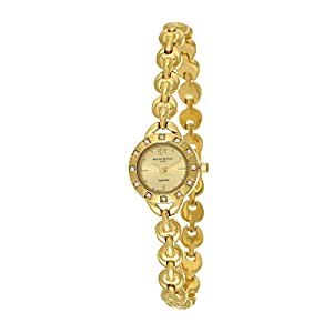 Mount Royale Fidha Collection Women's Gold Dial Brass Band Watch - 1529