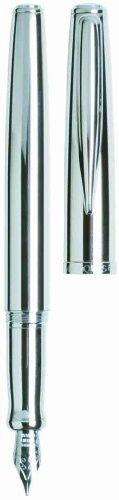 Waterford Marquis Claria Fountain Pen, Chrome ()