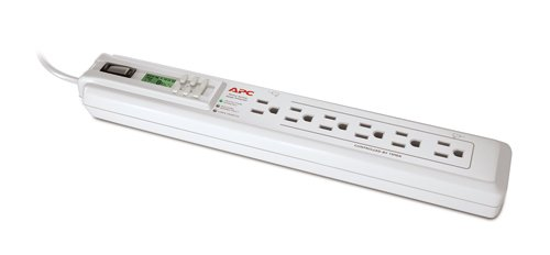 APC P6GC 6 Outlet/120V Power-Saving Timer Essential SurgeArrest, 3 foot cord