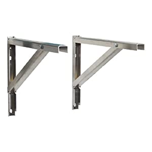 Mini Split Wall Bracket - Ductless Heat Pump Support - Condenser Mounting Rack for Air Conditioner. Patent Pending Design - Made From Rust Free Commercial Aluminum - Supports 9000 Btu to 36000 Btu Mini Split Systems & Made to Last!
