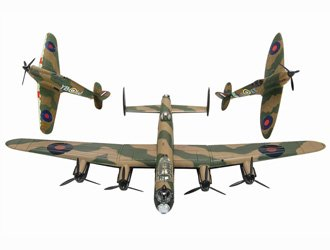 Avro Lancaster Battle of Britain Memorial Flight Collection Diecast Model (Memorial Set)