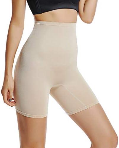 Tummy Control Shapewear Shorts for Women Plus Size Under Dress Shorts High Waisted Comfy Shorts Panties