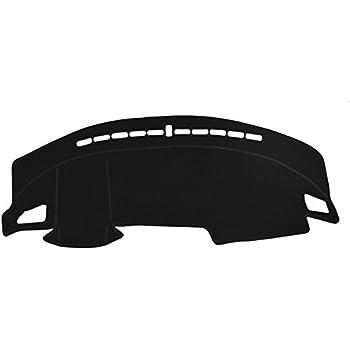 AutofitPro Custom Fit Dashboard Black Center Console Cover Dash Mat Protector Sunshield Cover for 2018 2019 2020 Volkswagen Atlas