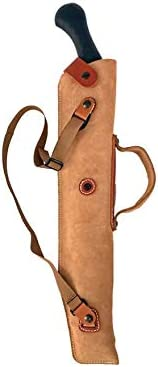 DeSantis Kurz Shotgun Case Scabbard Leather Tan