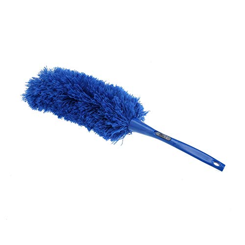 Dusters - Soft Microfiber Cleaning Duster Dust Cleaner Handle Feather Static Blue Household Dusting Brush Cars - Clean Swifter Bird Blinds Brush Replacement Board Made Kosher Okto ()