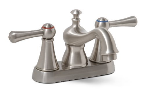 - Premier 120577LF Sonoma Lead-Free Centerset Two-Handle Lavatory Faucet, Brushed Nickel by Premier