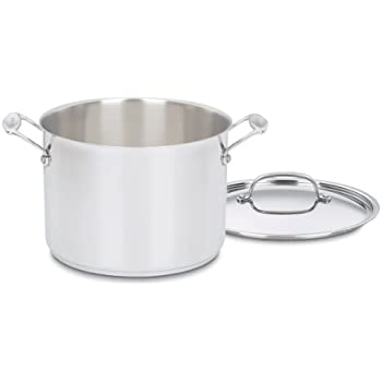 Cuisinart 766 24 Chefs Classic 8 Quart Stockpot With Cover