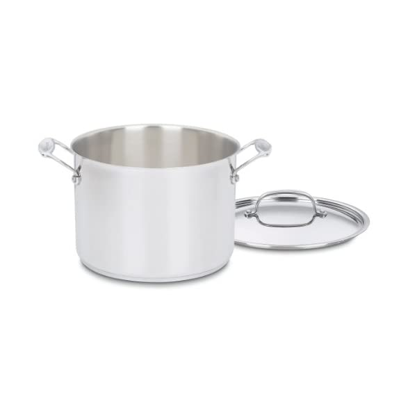 Cuisinart 77-7 Chef's Classic Stainless 7-Piece Cookware Set,Silver 6