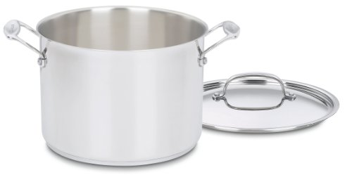 Cuisinart 77-10 Chef's Classic Stainless 10-Piece Cookware Set