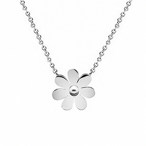 Womens Girls Fashion Stainless Steel Vintage Daisy, used for sale  Delivered anywhere in USA