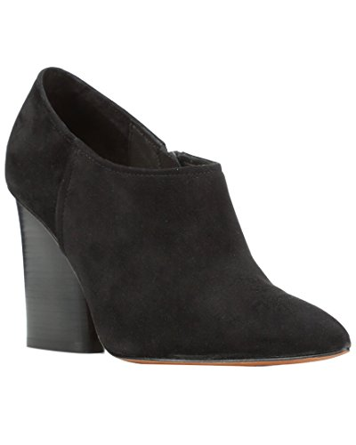Kid kerie Fashion Black Pliner Leather Womens Toe Donald Closed J Suede Ankle Boots PHwxZZ