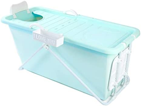 大人の幼児のためのホーム折り畳み式のバスタブ用ポータブルバスタブ、シャワーストールお湯にタブを浸します