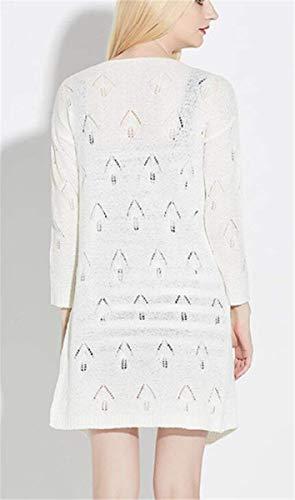 Fourche Elegant Printemps Blanc Cachemire Vetrothales Femmes Automne Jacket Pour Mag dXwaRRq