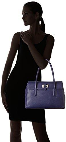 mujer talla Tanneur asas de Azul Bolso B1 para Le nica 1qwFxF