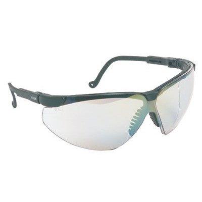 Frame Safety Xc Glasses Uvex - Uvex S3300D Genesis XC Safety Eyewear, Black Frame, Clear Dura-Streme Hardcoat/Anti-Fog Lens