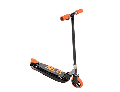 Huffy Scooter 12V Helix Electric In-Line, Black/Orange