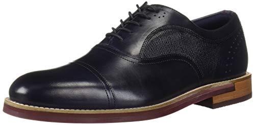 Ted Baker Men's Quidion Oxford, Dk Blue, 10.5 Regular US (Ted Baker Blue Shoes)