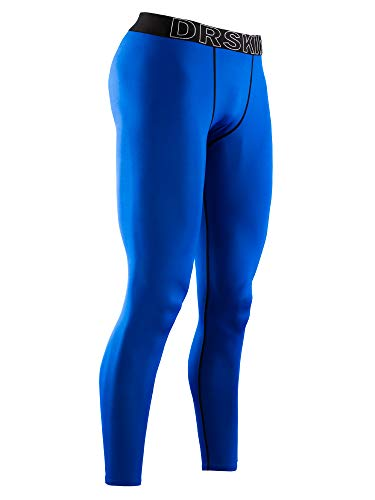 DRSKIN Men's Compression Cool Dry Sports Tights