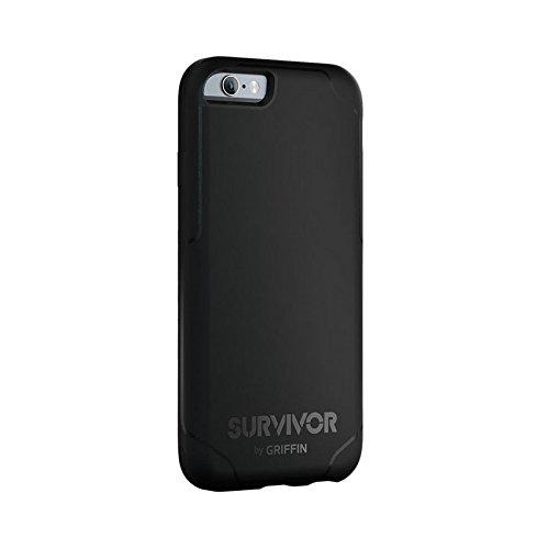 Griffin Survivor Journey - Funda para Apple iPhone 6 y 6s, color rosa y gris Negro y gris