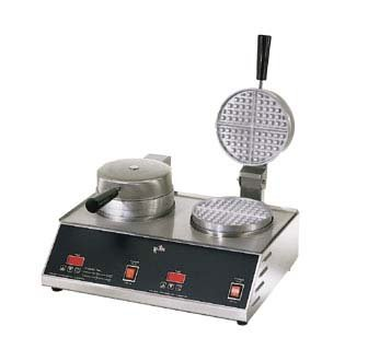Star Manufacturing SWB7R2E CSA Standard Double Waffle Baker, 7 in.