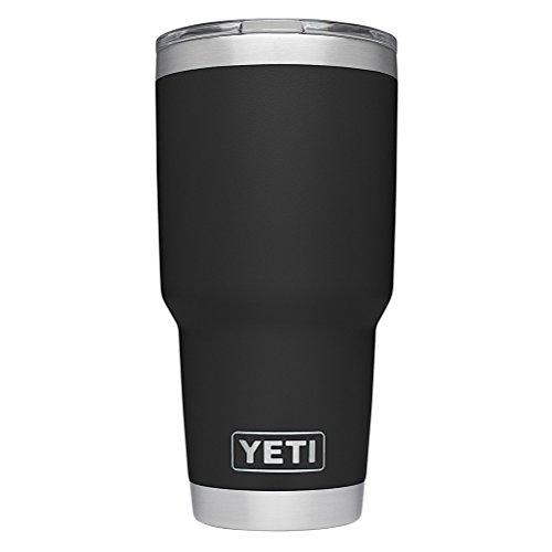 YETI Rambler 30 oz Stainless Steel Vacuum Insulated Tumbler w/ MagSlider Lid, Black by YETI