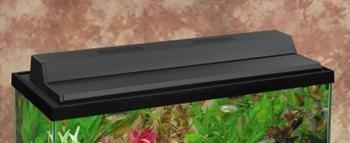 Recessed Full Aquarium Hood Color: Black, Size: 30