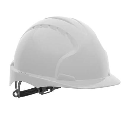 JSP EVO2 – sin ventilación casco de seguridad, color blanco