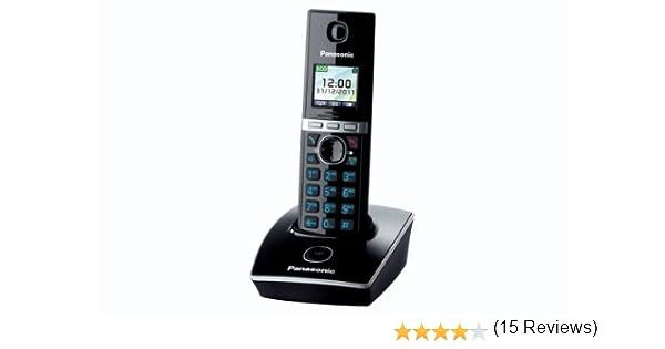 Panasonic KX-TG8051SPB - Teléfono inalámbrico DECT KX-TG8051SPS: Amazon.es: Electrónica